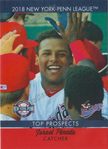 2018 New York Penn League Top Prospects NYPL Israel Pineda