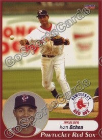 2009 Pawtucket Red Sox Ivan Ochoa
