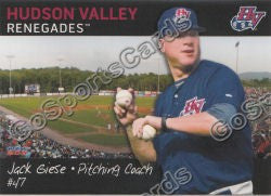 2011 Hudson Valley Renegades Jack Giese