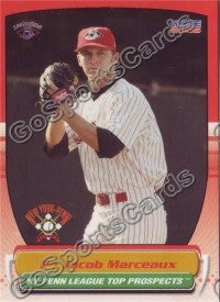 2005 Choice New York Penn League Jacob Marceaux
