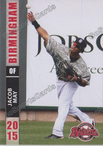 2015 Birmingham Barons Jacob May