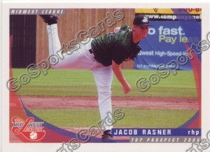 2006 Midwest League Top Prospects Jacob Rasner
