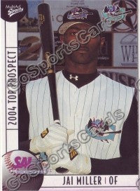 2004 South Atlantic League SAL Top Jai Miller