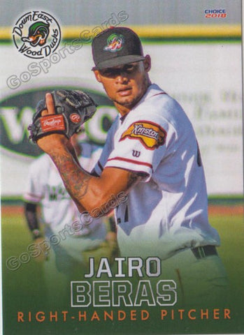 2018 Down East Wood Ducks Jairo Beras