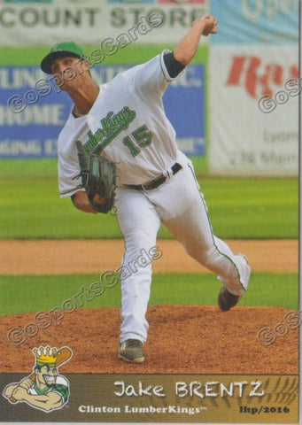 2016 Clinton LumberKings Update Jake Brentz