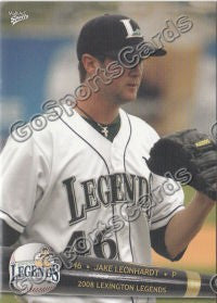 2008 Lexington Legends Jake Leonhardt
