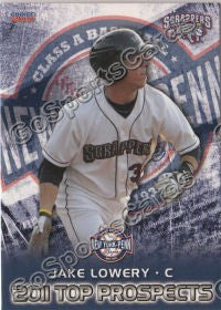 2011 New York Penn League Top Prospects NYPL Jake Lowery