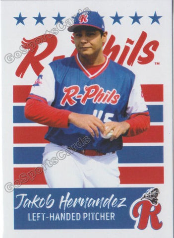 2019 Reading Fightin Phils U3 Jakob Hernandez