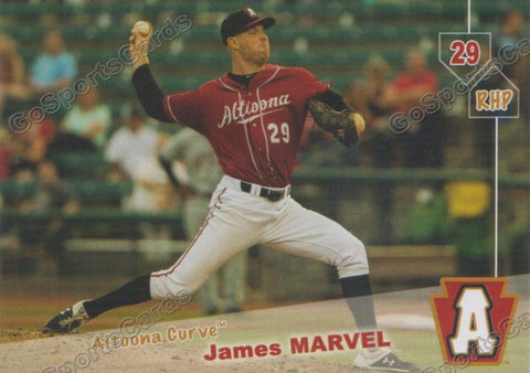 2019 Altoona Curve James Marvel
