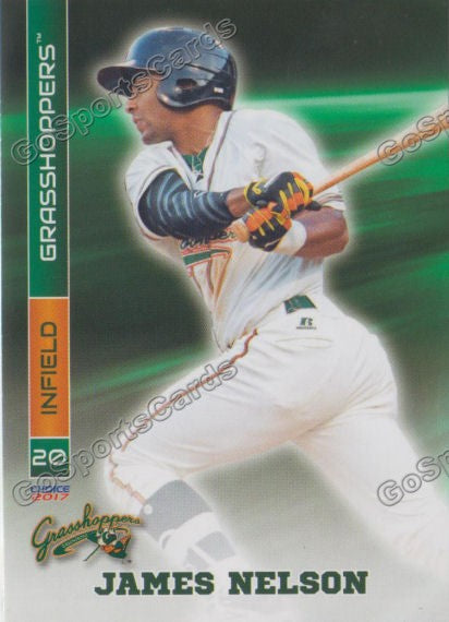 2017 Greensboro Grasshoppers James Nelson