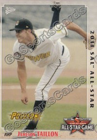 2011 South Atlantic League Northern All Star Jameson Taillon