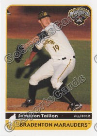 2012 Bradenton Marauders Jameson Taillon