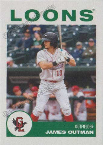 2019 Great Lakes Loons James Outman