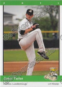 2011 Clinton LumberKings James Paxton