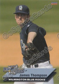 2010 Wilmington Blue Rocks James Thompson