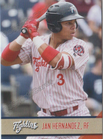 2018 Reading Fightin Phils Update Jan Hernandez