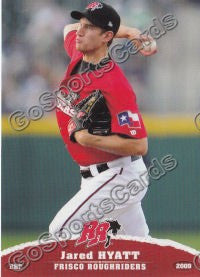2009 Frisco Roughriders Jared Hyatt