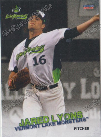 2015 Vermont Lake Monsters Jared Lyons