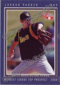 2008 MidWest League Top Prospects Jarrod Parker