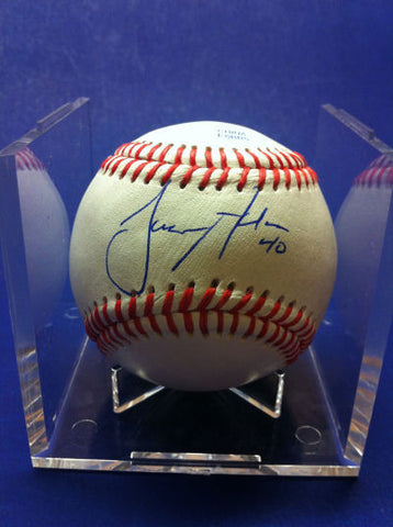 Jason Adam Signed Baseball Auto