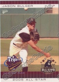 2005 Pacific Coast League All-Star Game Multi-Ad Jason Bulger