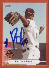 Jason Burch 2008 Choice Frederick Keys #6 (Autograph)