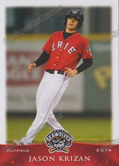 2014 Erie Seawolves Jason Krizan