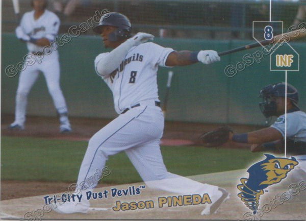2019 Tri City Dust Devils Jason Pineda