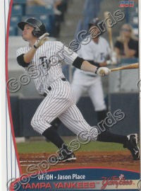 2011 Tampa Yankees Jason Place