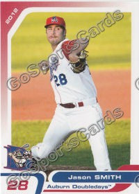 2012 Auburn Doubledays Jason Smith