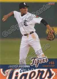 2011 Connecticut Tigers Javier Azcona