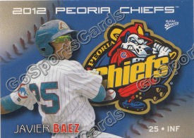 2012 Peoria Chiefs Team Set