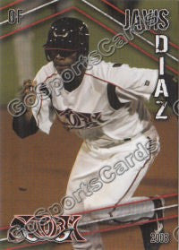 2008 Lake Elsinore Storm Javis Diaz