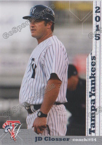 2015 Tampa Yankees JD Closser