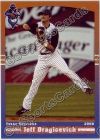 2008 Tulsa Drillers Jeff Dragicevich