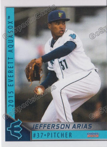 2015 Everett AquaSox Jefferson Arias