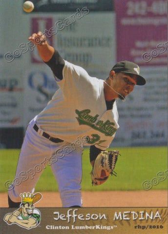 2016 Clinton LumberKings Jeffeson Medina