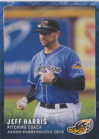 2015 Akron Rubberducks Jeff Harris