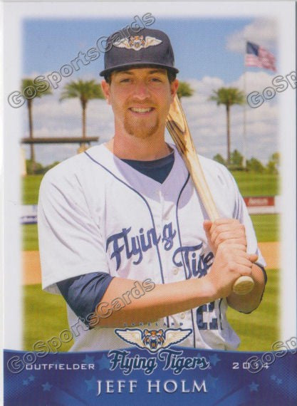 2014 Lakeland Flying Tigers Jeff Holm