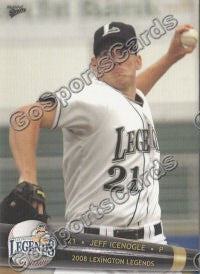 2008 Lexington Legends Jeff Icenogle