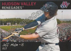 2011 Hudson Valley Renegades Jeff Malm