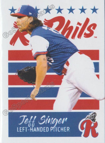 2019 Reading Fightin Phils U3 Jeff Singer