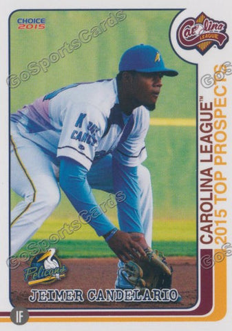 2015 Carolina League Top Prospect Jeimer Candelario