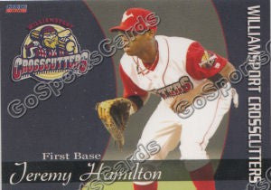2008 Williamsport Crosscutters Jeremy Hamilton