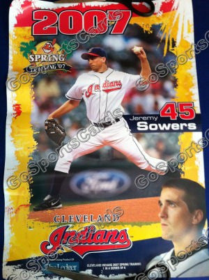 2007 Jeremy Sowers Spring Training SGA Poster