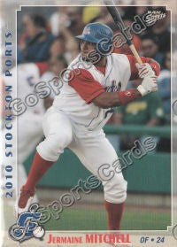2010 Stockton Ports Jermaine Mitchell