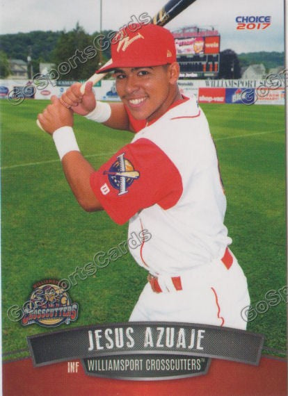 2017 Williamsport Crosscutters Jesus Azuaje