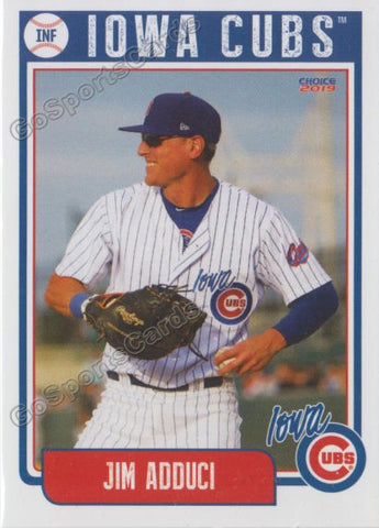 2019 Iowa Cubs Jim Adduci
