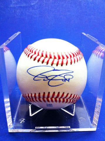 Jim Murphy Signed Baseball Auto