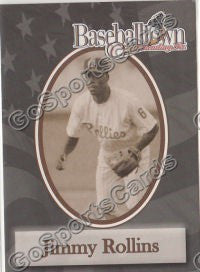 2002 Reading Phillies Baseballtown Jimmy Rollins